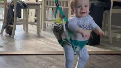 Kid goes absolutely bonkers in his jumper