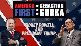 Sidney Powell and President Trump. Victor Davis Hanson with Sebastian Gorka on AMERICA First