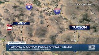 Tohono O'Odham police officer killed