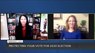 7 UpFront: Benson, Nessel discuss election security, absentee ballots