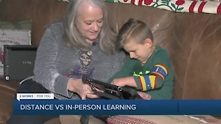 In-person vs. distance learning: Parents doing their best for their kids