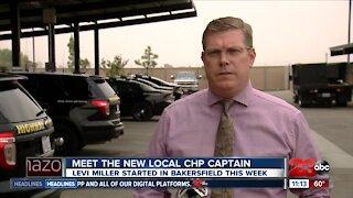 Levi Miller named new CHP Captain