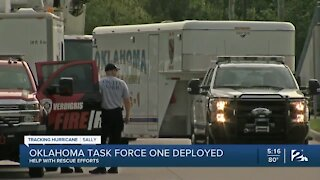 Oklahoma Task Force 1 deployed to help with Hurricane Sally
