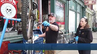 Local shops keeping bike commuters moving amid pandemic