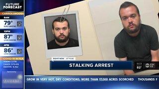 Stalking arrest