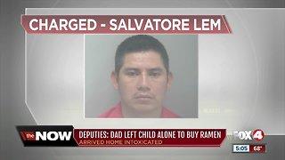 Child found roaming alone dad arrested in Bonita Springs