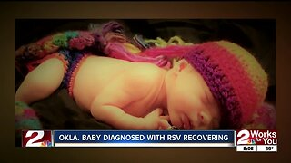 Oklahoma baby recovering after diagnosis with RSV