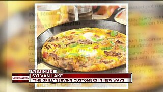 The Grill in Sylvan Lake is serving customers in new ways