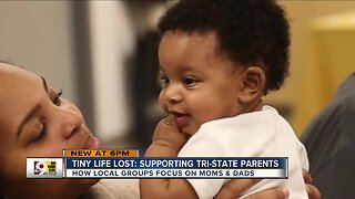 Local groups fight black infant mortality by supporting moms and dads