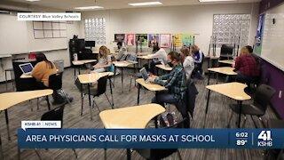 100 metro doctors sound off on masks in school