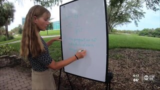 Eckerd College moving classes outdoors to help protect against the spread of COVID-19