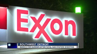 1 dead in double shooting at southwest Detroit gas station overnight