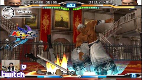 (PS2) KOF Maximum Impact 2 - 25 - Hard Challenge - Level 7