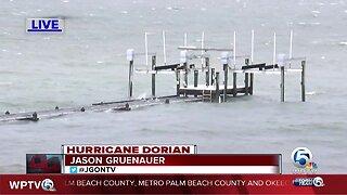 High tide in Fort Pierce