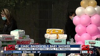 Bakersfield community comes together to donate to 23ABC's 2nd annual baby shower