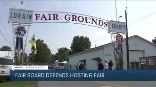 The Lorain County Fair Board spoke out to address concerns about moving forward with the event in the midst of the covid pandemic