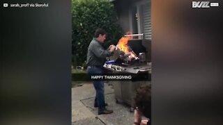 Brændt kalkun er den nye Thanksgiving tradition