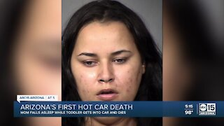 3-year-old girl dead after being found in parked car, mom arrested