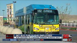 GET furloughing employees