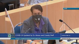 Dr. Alina Alonso gives Palm Beach County coronavirus update