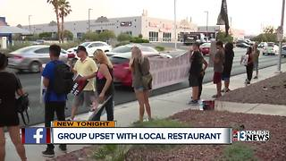 Restaurant protests continue