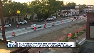 Business owners say road work is driving customers away