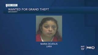 Crime Stoppers searching for woman in grand theft case