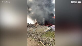 Gas explosion in Nigeria kills more than 15 people