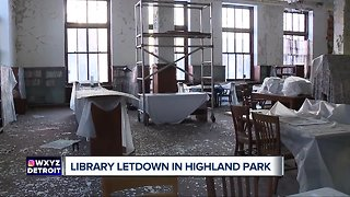Library letdown in Highland Park