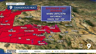 Extreme heat continues through the end of the week