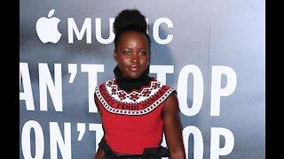Lupita Nyong'o pays emotional tribute to late co-star Chadwick Boseman