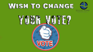 Wish to change your vote?