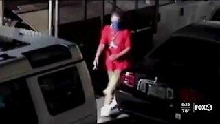 Cape Coral Police search for burglar