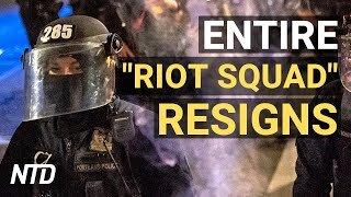 "Portland Police's Entire ""Riot Squad"" Resigns; McCloskeys Plead Guilty: 'I'll Do It Again' | NTD"