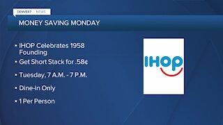 Money Saving Monday: IHOP pancakes deal
