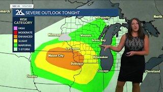 Brittney's NBC 26 weather forecast