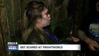 Inside the Asylum at Frightworld