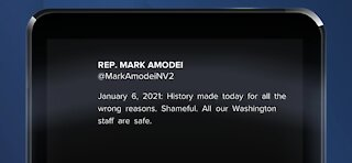 Rep. Mark Amodei, Rep. Steven Horsford respond to violence on Capitol Hill