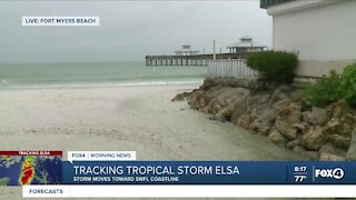 Reporter Jessica Alpern Package at Fort Myers Beach