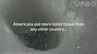 How Much Toilet Paper Americans Use
