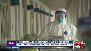 Coronavirus continuing to spread