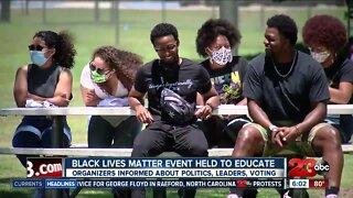 Black Lives Matter event preaches education