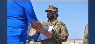 Nevada National Gaurd captain honored with award for saving woman's life in Washington, D.C.