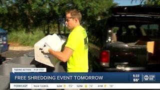 Free shredding event in Hillsborough County Saturday
