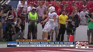 Ehlinger to Challenge OU Defense