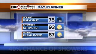 Another hot day across SWFL