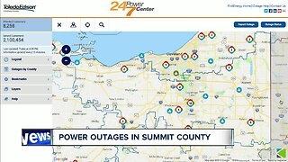 Severe weather causes power outages across Northeast Ohio