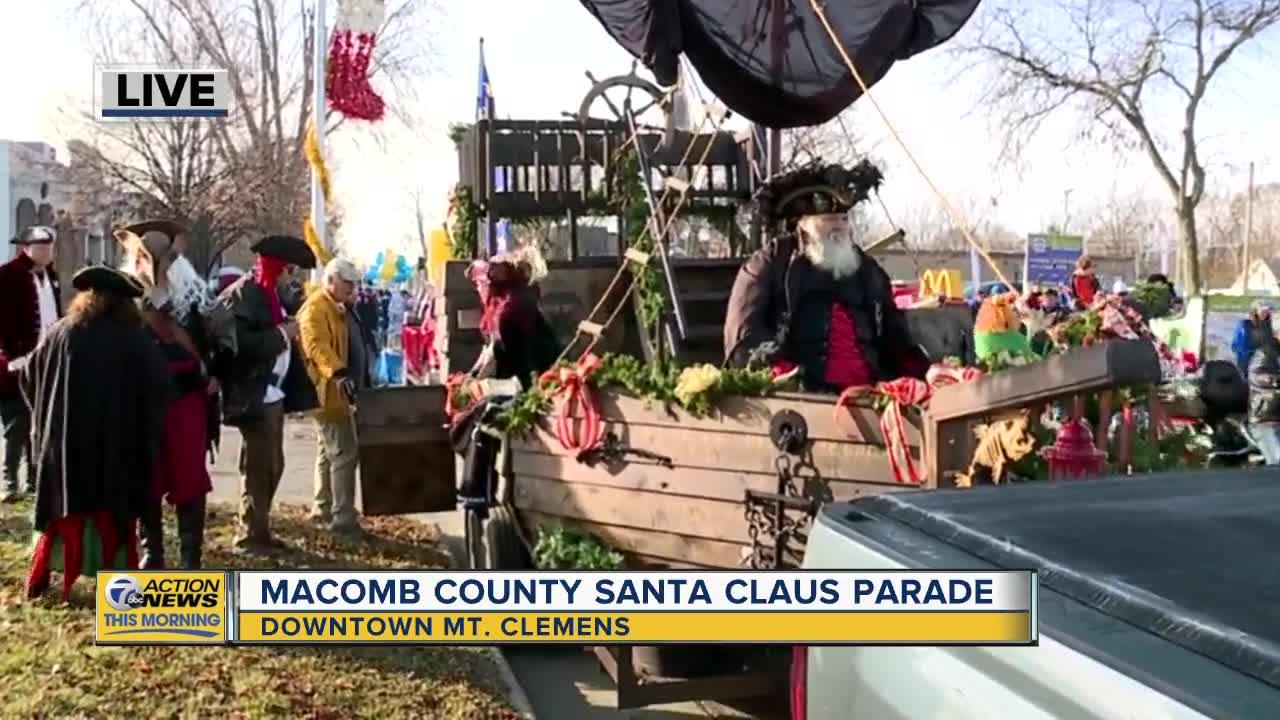 Mt. Clemens Santa Claus Parade