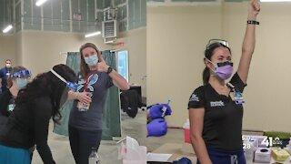 TMC nurses among first to receive vaccine