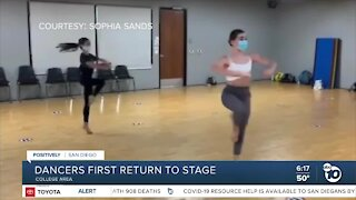 Dancers return to stage after months away